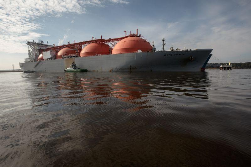 Europoje iš JAV importuojamų gamtinių dujų kaina už europines buvo mažesnė šių metų pradžioje.