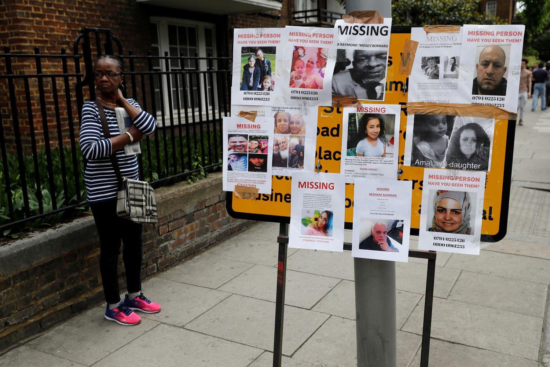 Gaisro Londone aukų skaičius pasiekė 30