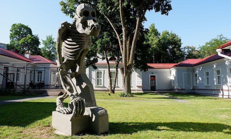 Donato Jankausko-Duonio skulptūra Sapiegų parke Vilniuje. VŽ nuotr.