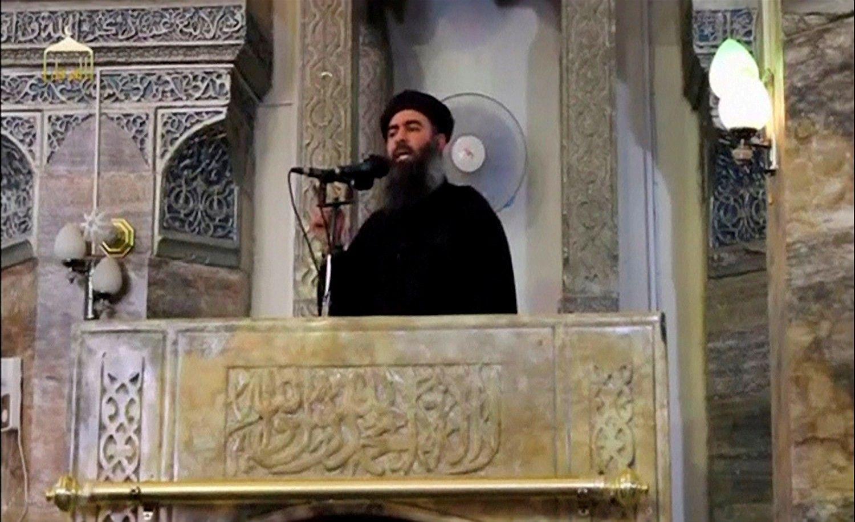 """Rusija skelbia nužudžiusi""""Islamo valstybės""""lyderį"""