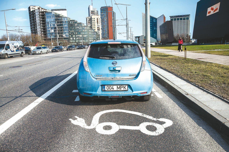 Elektromobilių per metus padaugėjo 60%