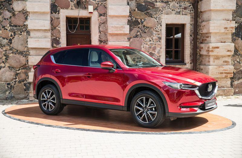 """Mazda CX-5"". Juditos Grigelytės (VŽ) nuotr."