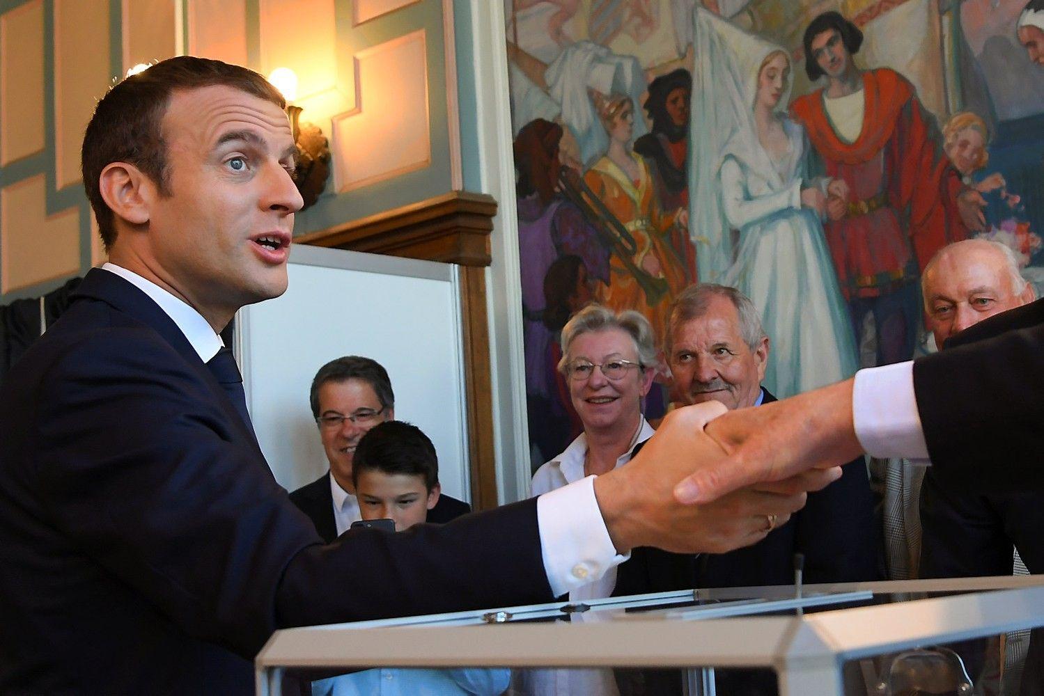 Rinkimai Prancūzijoje: prognozuojamas pergalės mastas verčia svarstyti apie rinkimų sistemos reformą