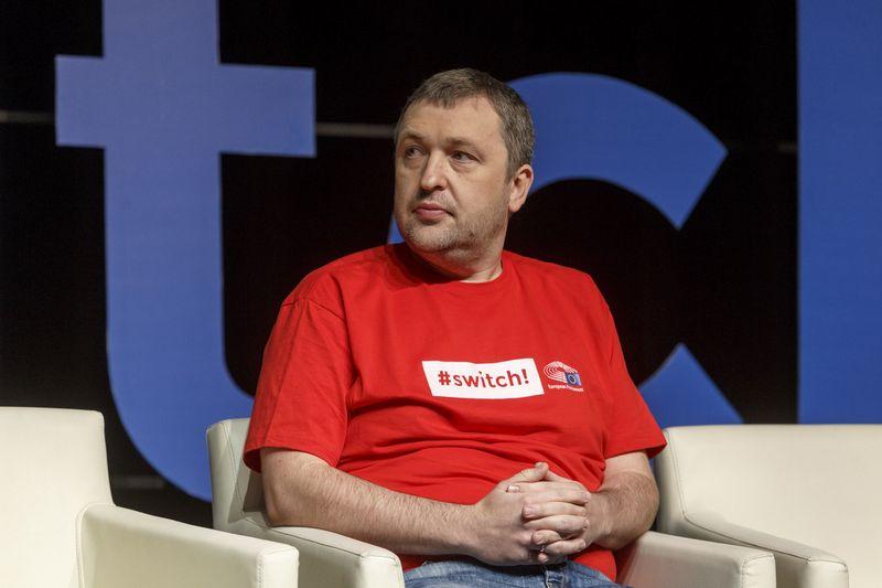 Antanas Guoga, EP narys. Vladimiro Ivanovo (VŽ) nuotr.