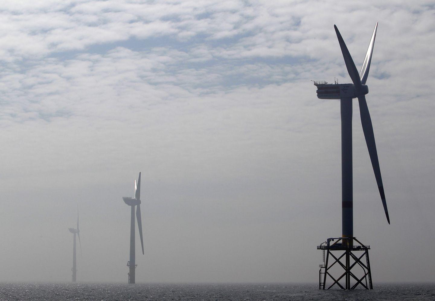 Vėjo jėgainės jūroje iš Vyriausybės keliaus į Seimą