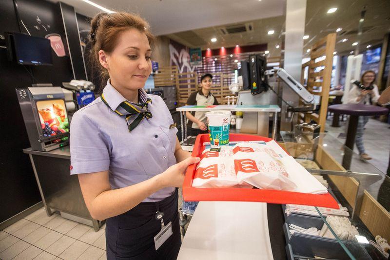 """Iš viso 2017 – 2019 m. į """"McDonald's restoranų tinklo vystymą Lietuvoje planuojama investuoti 7 mln. Eur. Juditos Grigelytės (VŽ) nuotr."""