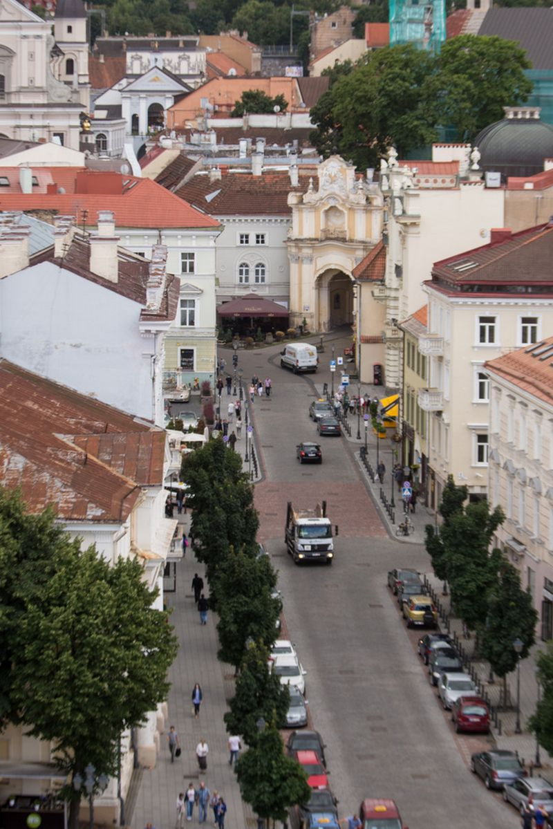 Vilnius, Senamiesčio panorama. Vladimiro Ivanovo (VŽ) nuotr.