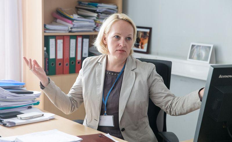 Eglė Ramanauskienė, VMI išmaniosios mokesčių administravimo sistemos projekto vadovė. Juditos Grigelytės (VŽ) nuotr.