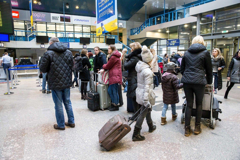 Lietuviai į užsienį šiemet keliauja daugiau