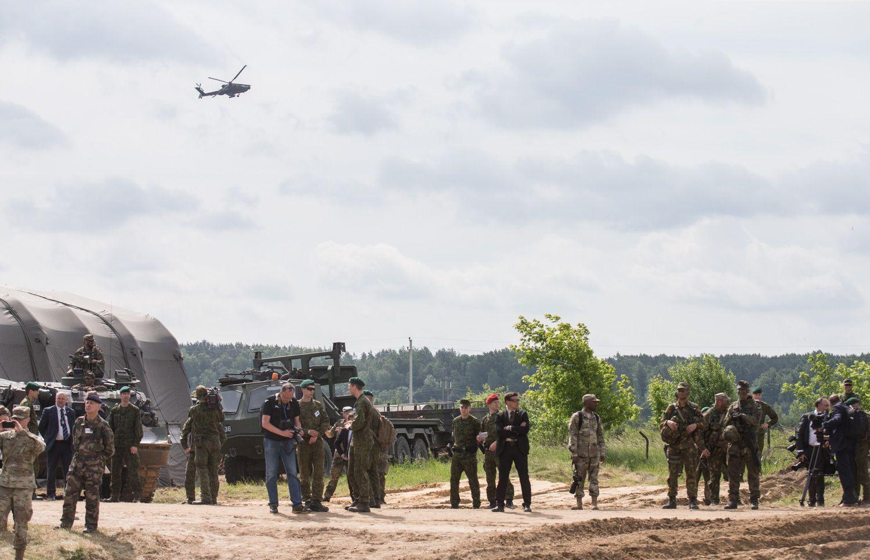 JAV atsiųs daugiau karių į Lietuvą per Rusijos ir Baltarusijos karines pratybas