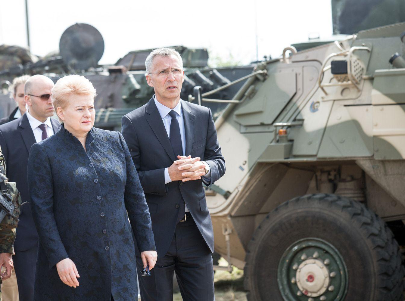 NATO vadovas: pagirtinas Lietuvos gynybos finansavimo didinimas
