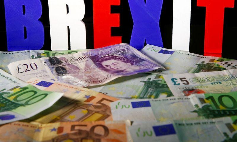 """Po referendumo dėl """"Brexit"""" ėmęs smarkiai svyruoti svaras privertė plėtojančius verslą su britais kainodarą nustatyti eurais.  """"Reuters"""" nuotr."""