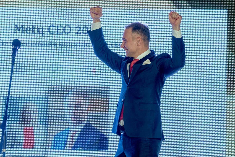 """Petras Masiulis pelnė dvigubą """"Metų CEO"""" titulą"""