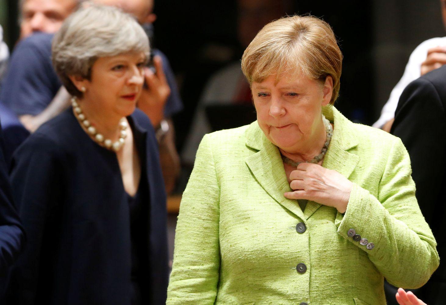 """Merkel apie pasiūlymą dėl """"Brexit"""": gera pradžia"""
