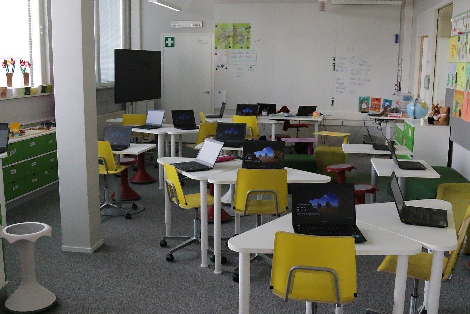 Pamoka Suomijos ateities mokykloje