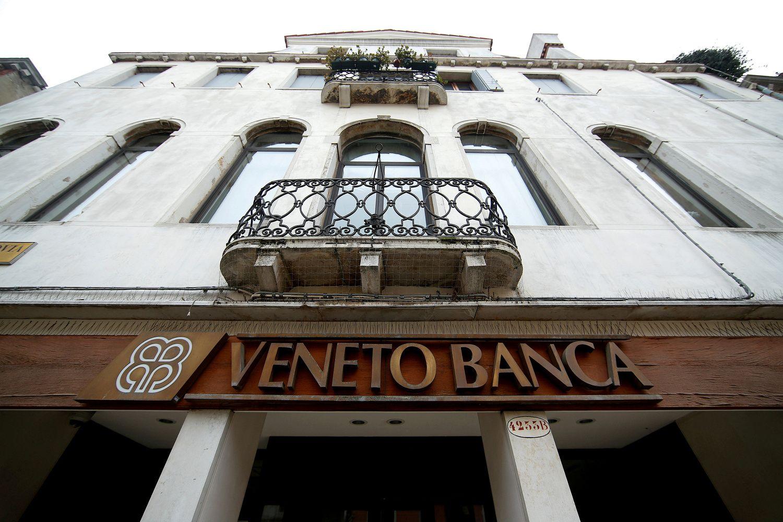Dviejų Veneto bankų gelbėjimui Italija skiria 17 mlrd. Eur
