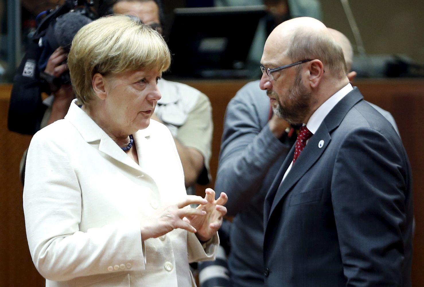 Vokietijos rinkėjams pasiūlė Jungtinių Europos valstijų idėją