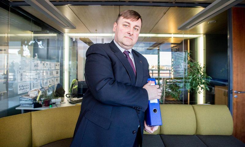 Saulius Lapšinskas, Lietuvos auditorių rūmų prezidentas. Juditos Grigelytės (VŽ) nuotr.