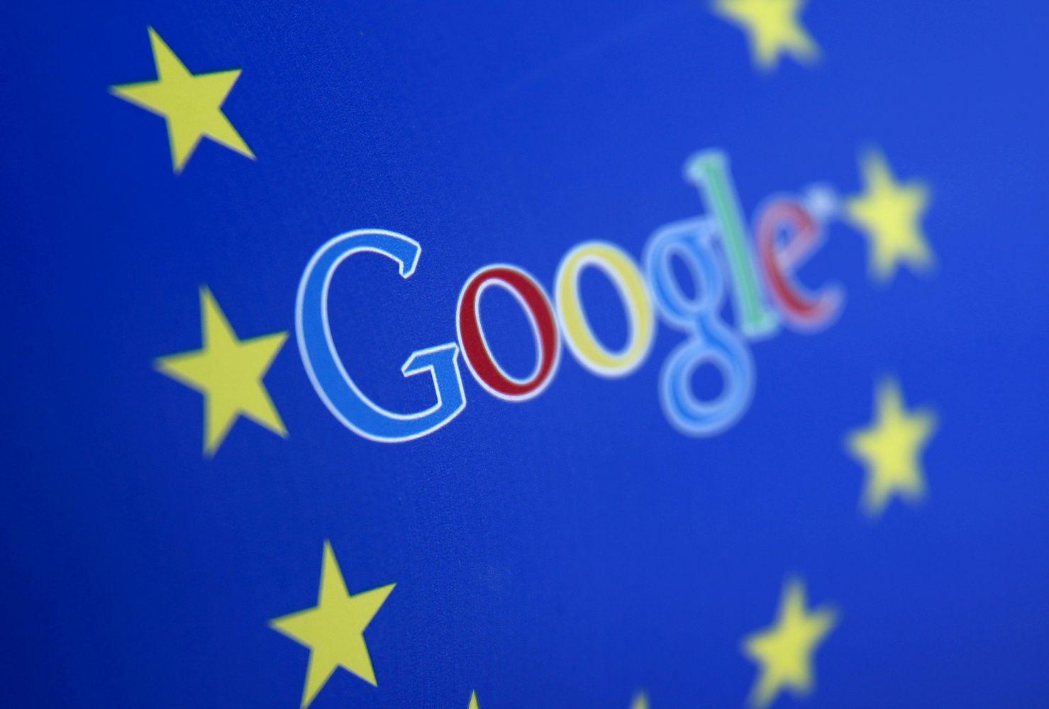 "EK skyrė ""Google"" rekordinę 2,42 mlrd. Eur baudą"