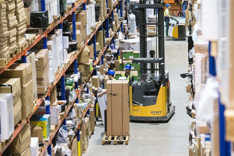 Mažmeninės prekybos įmonių apyvarta didėjo 11,5%