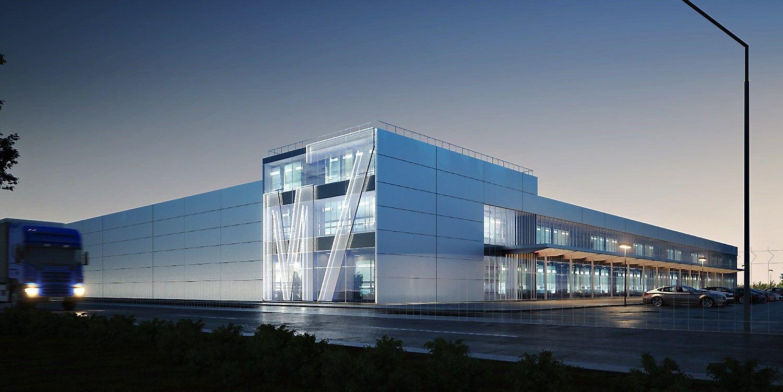 Biurų ir logistikos centre M7 – unikalūs sprendimai ir medžiagos