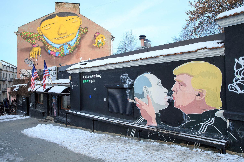 Putinas ir Trumpas susitiks Vokietijoje