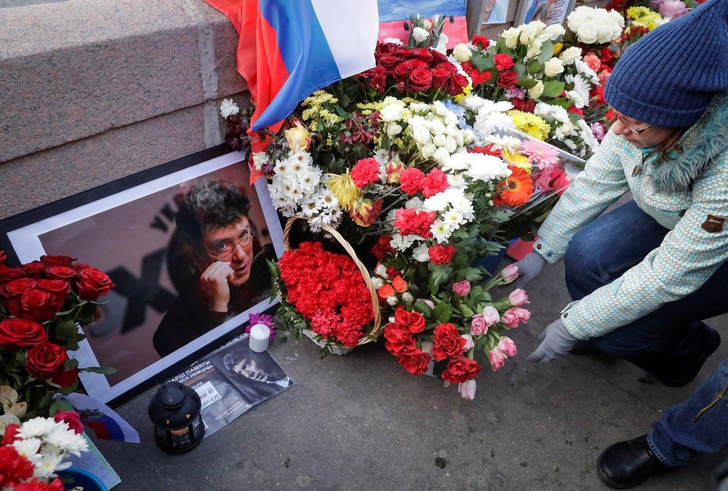 Rusijoje nuteisti įtariamieji Nemcovo nužudymu