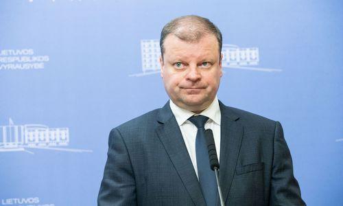 Premjeras nemato reikalo ūkio ministrui trauktis