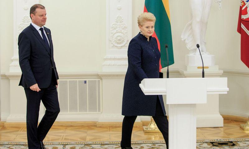 2016 12 21. Prezidentė susitiko su 17-osios Vyriausybės nariais. Vladimiro Ivanovo (VŽ) nuotr.