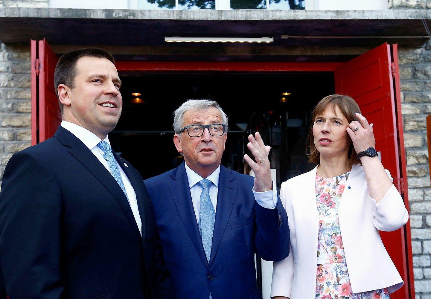 Estijos prezidentė: dabar galime atsilyginti ES