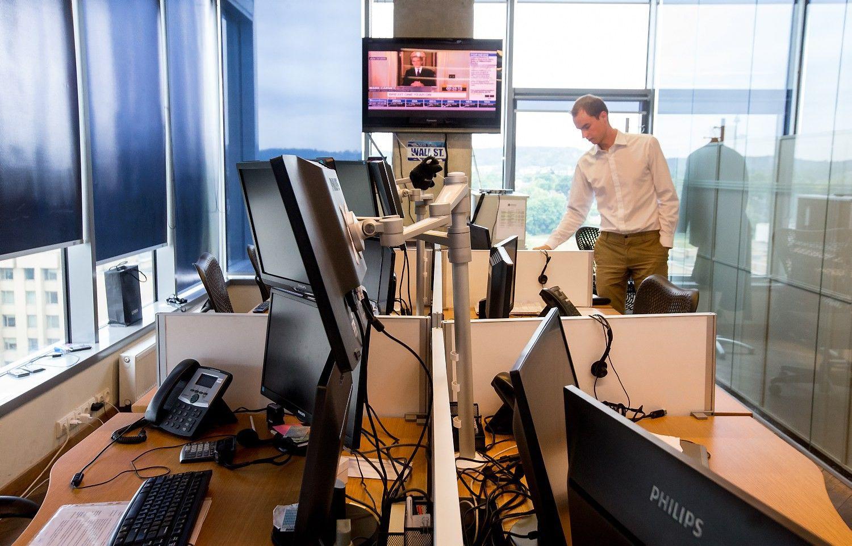 Šiaulių banko langas užsivėrė su trenksmu