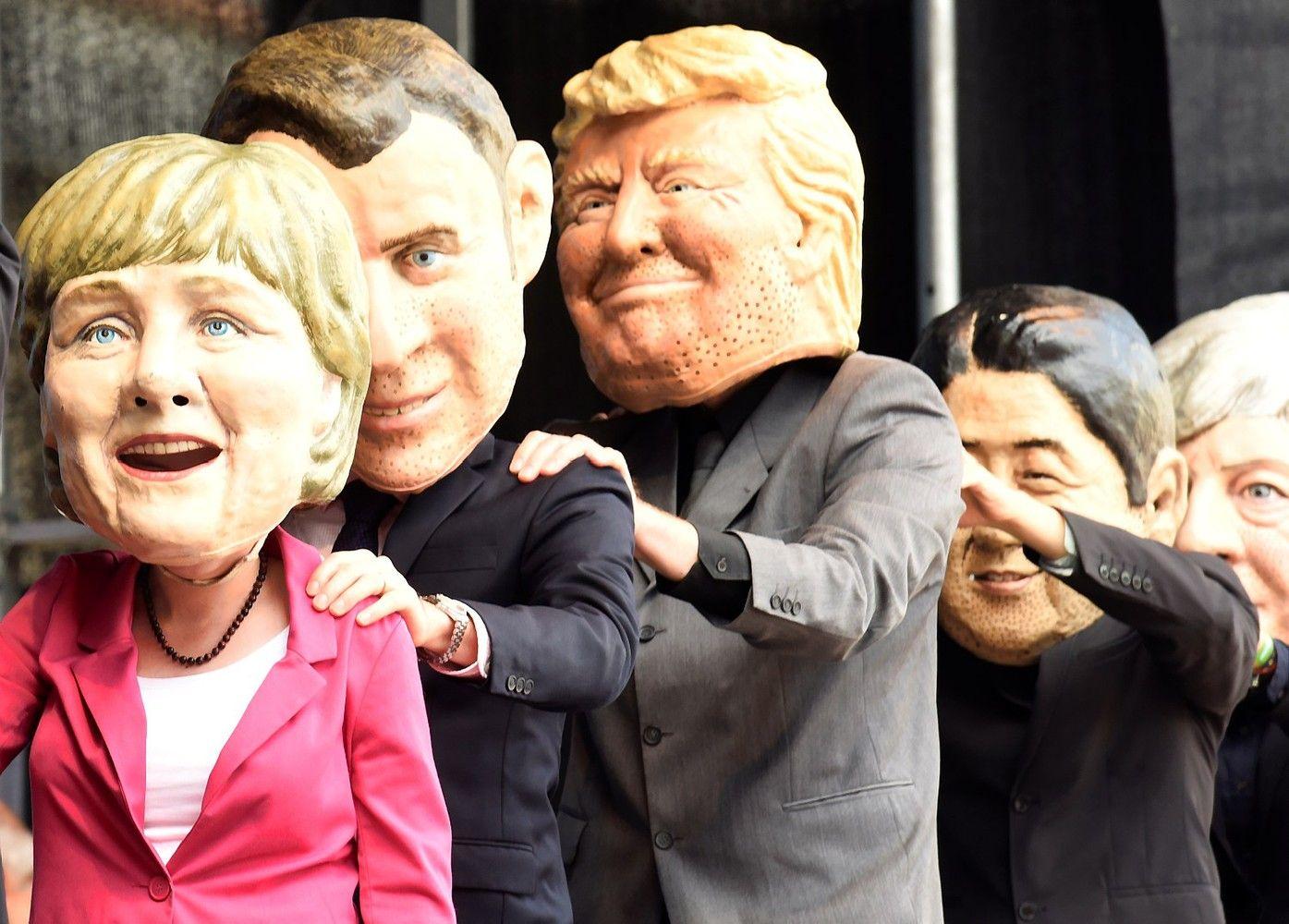 Prieš G20 Hamburgas protestuoja