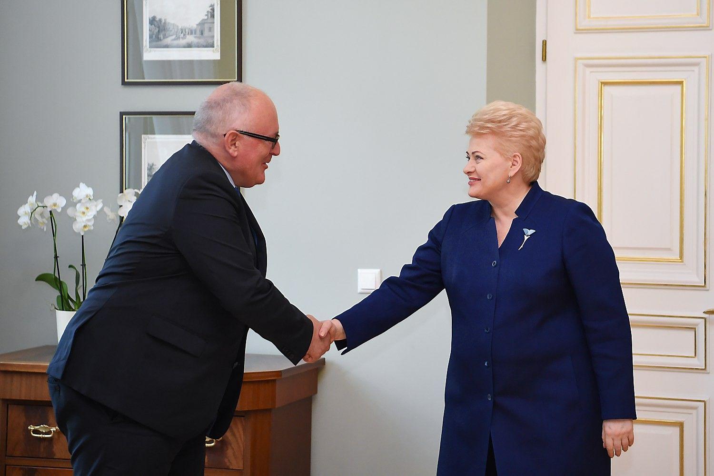 Aukštas EK narys lankosi Lietuvoje
