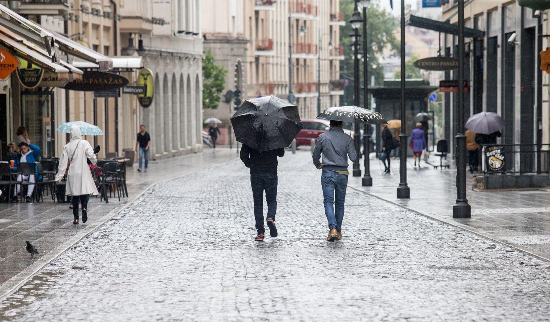 Baigė sostinės Vilniaus gatvės remontą