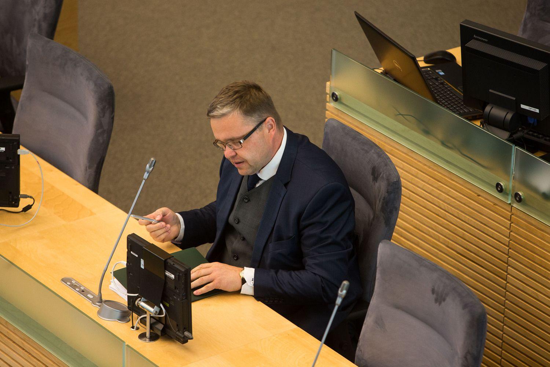"""Vasiliauskas: """"fintech"""" sumažintų priklausomybę nuo bankų"""