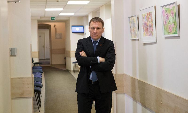 Vienas pagrindinių LLAM akcininkų Mindaugas Marcinkevičius. Vladimiro Ivanovo (VŽ) nuotr.