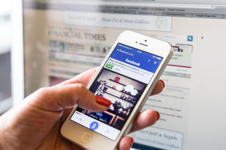Pagrindiniai naujienų šaltiniai: internetas ir TV