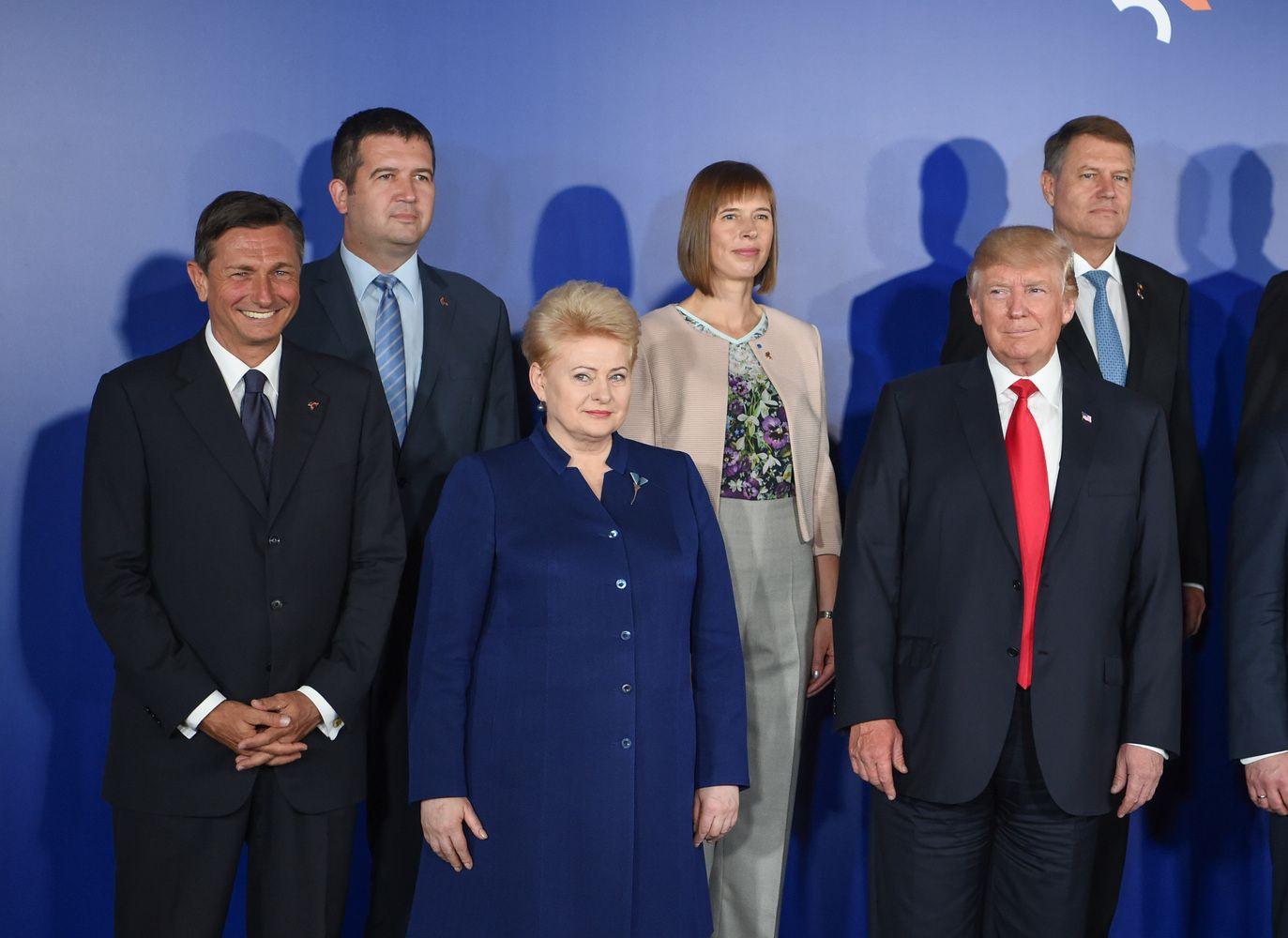 Prezidentė Trumpui pristatė Lietuvos gynybos poreikius