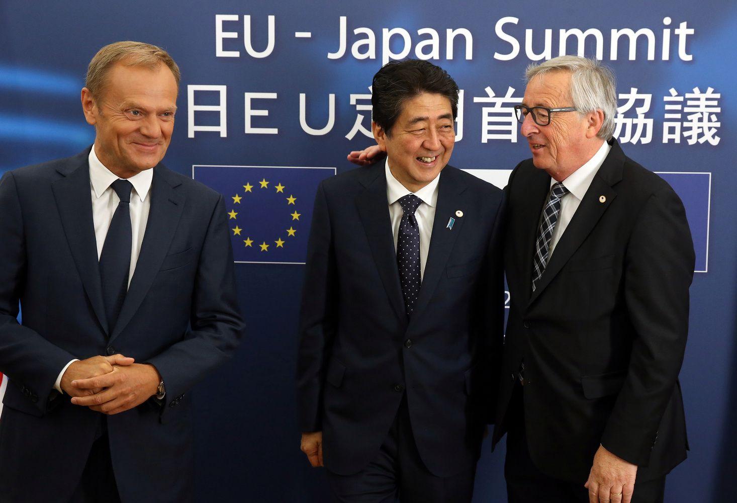 ES ir Japonija susitarė dėl laisvos prekybos