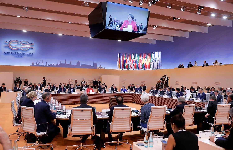 VŽ paaiškina: kaip veikia G20 ir kuo svarbus susitikimas Vokietijoje