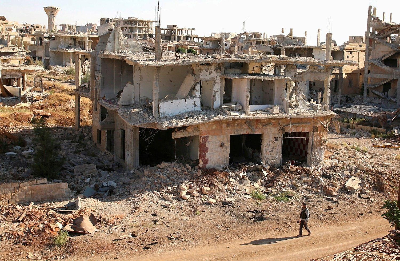 JAV ir Rusija sutarėdėl paliaubų pietvakarių Sirijoje