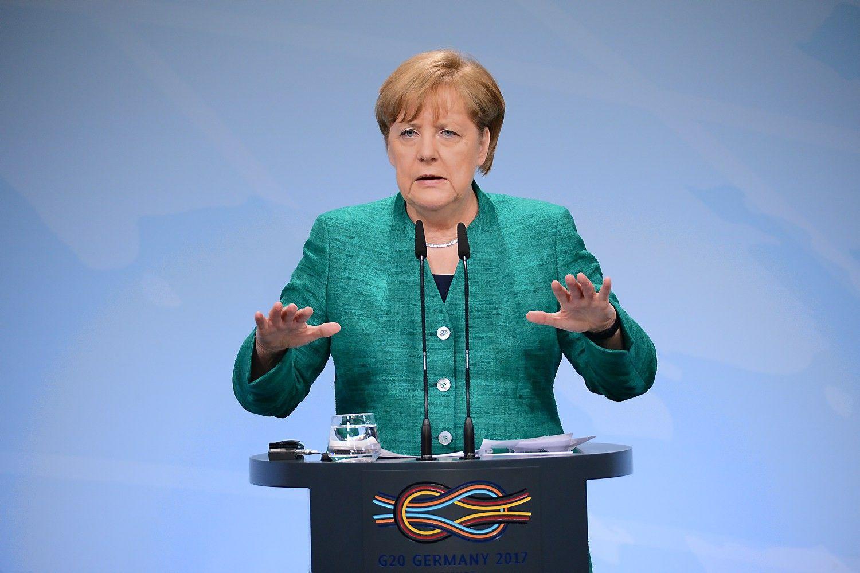 Metus trukęs Merkel darbas atnešė kuklius rezultatus