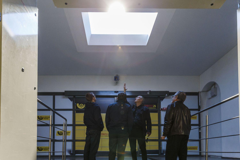 Lietuvių bendrovė sukūrė ne šviestuvą, o šviesą