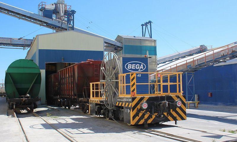 """""""Begos"""" inžinierių patirtis konstruojant elektrinį robotą lokomotyvą """"Rob-45"""" įkvėpė imtis dar ambicingesnio projekto – kurti SkGD varomą lokomotyvą.  Bendrovės nuotr."""