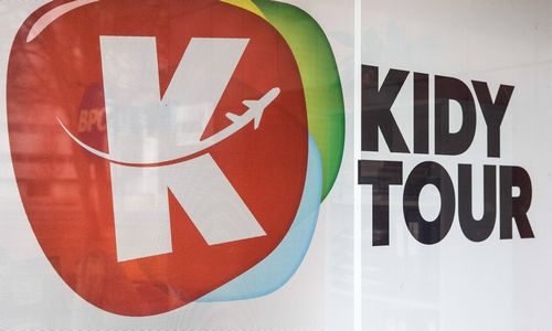 """""""Kidy Tour"""" keliones pardavinės ir rinkos banginis """"West Express"""""""