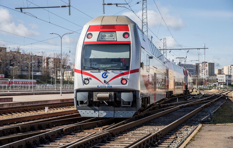 Traukiniai į Kauną važiuos daugiau nei 20 kartų per parą