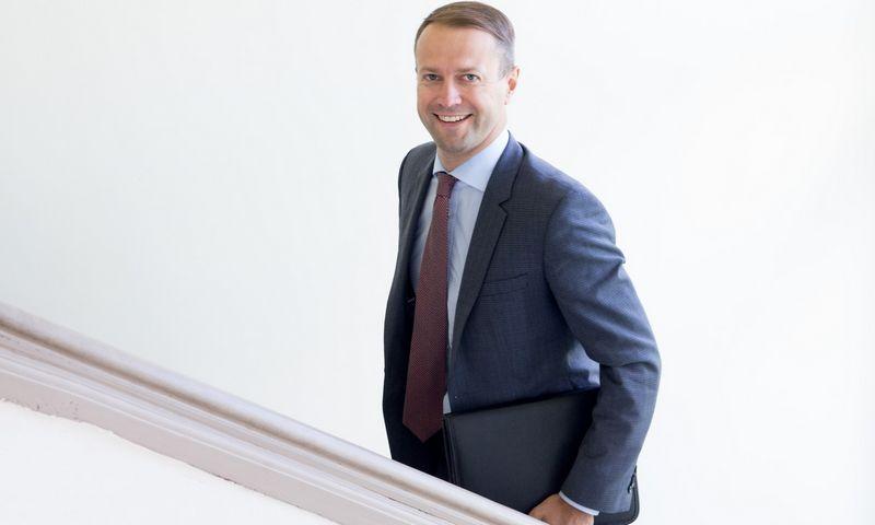 """Dalius Misiūnas, UAB """"Lietuvos energija"""" valdybos pirmininkas, generalinis direktorius. Juditos Grigelytės (VŽ) nuotr."""