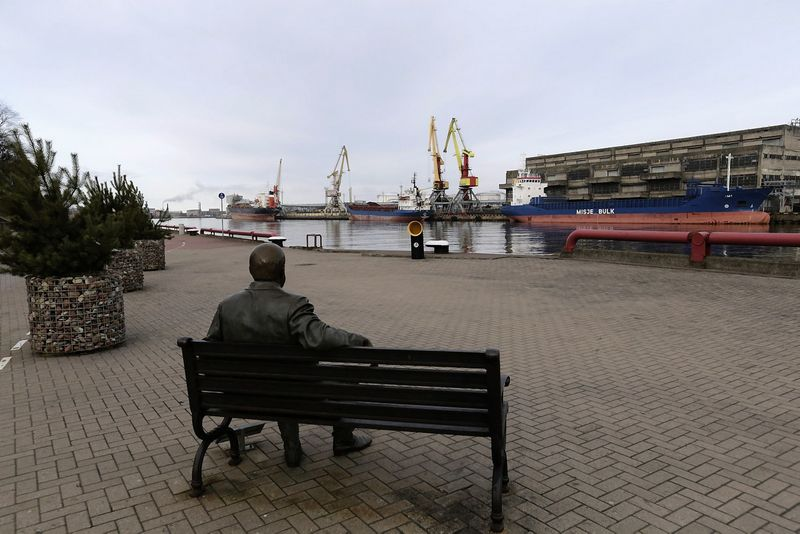 """""""Latvijas kugnieciba"""" turi  16 tanklaivių, teikia tanklaivių aptarnavimo paslaugas. Into Kalnino (""""Reuters""""/""""Scanpix"""") nuotr."""
