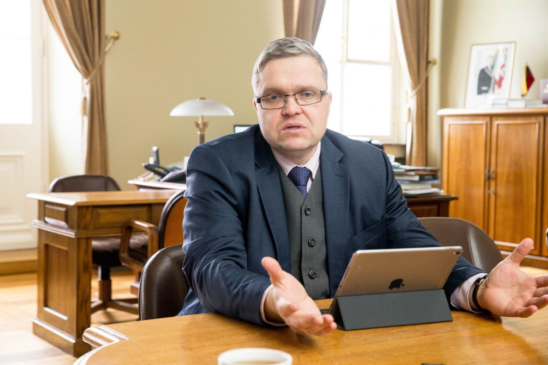 V. Vasiliauskas – apie ECB pinigų politiką, kada galima tikėtis pirmo EURIBOR padidėjimo