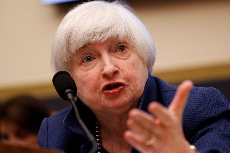 "Janet Yellen. FED vadovė  (""Reuters"" / ""Scanpix"") nuotr."